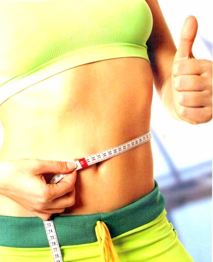 сбросить жир на животе женщине